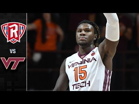 Radford vs. Virginia Tech Basketball Highlights (2017-18)