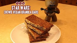 Chewie Vegan Granola Bars Inspired By Star Wars!