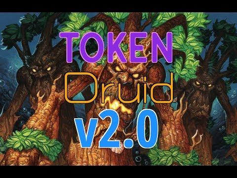 HearthPWN DECK Spotlight: JamieG's (LEGEND) Token Druid V2.0 ! [S61]