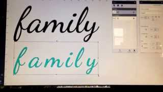 Video Get great results using system fonts with cricut explore download MP3, 3GP, MP4, WEBM, AVI, FLV Juli 2018