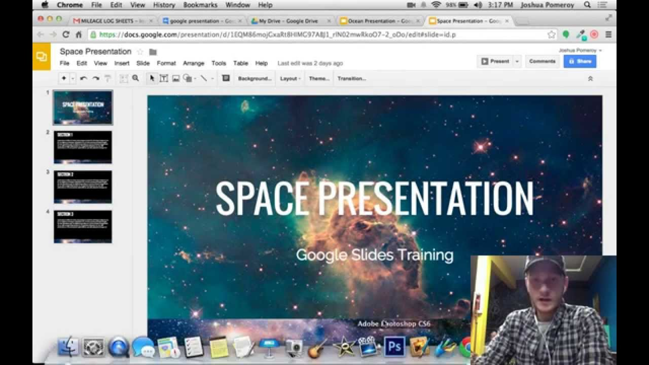 google slides combining multiple presentations youtube
