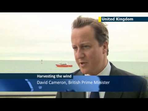 Britain opens world's largest offshore wind farm: PM David Cameron toasts 'great day for Britain'