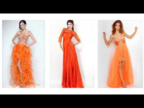 Top 100 Orange Prom Dresses, Orange Dresses For Women