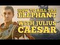 [AC Origins] How to kill an elephant with Julius Caesar