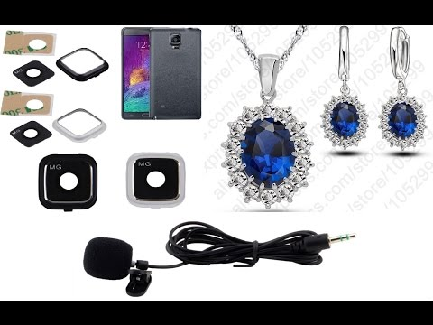 necklace-earrings-woman.-camera-lens-glass-note-4.-mini-3.5mm-clip-microphone.