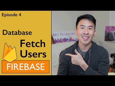 Swift: Firebase 3 - How to Fetch Users from Database (Ep 4)