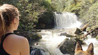 Smoky Mountains Waterfall Hike & Wood Stove Breakfast!
