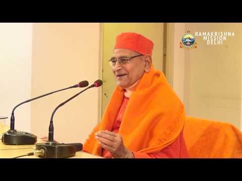 Swami Gautamananda || Spiritual Disciplines for Householders || Ramakrishna Mission Delhi || 2018