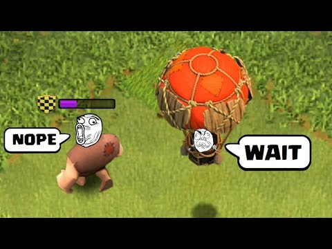 COC Funny Moments, Glitches, Fails, Wins and Trolls Compilation #4 | CLASh OF CLANS Builder Left