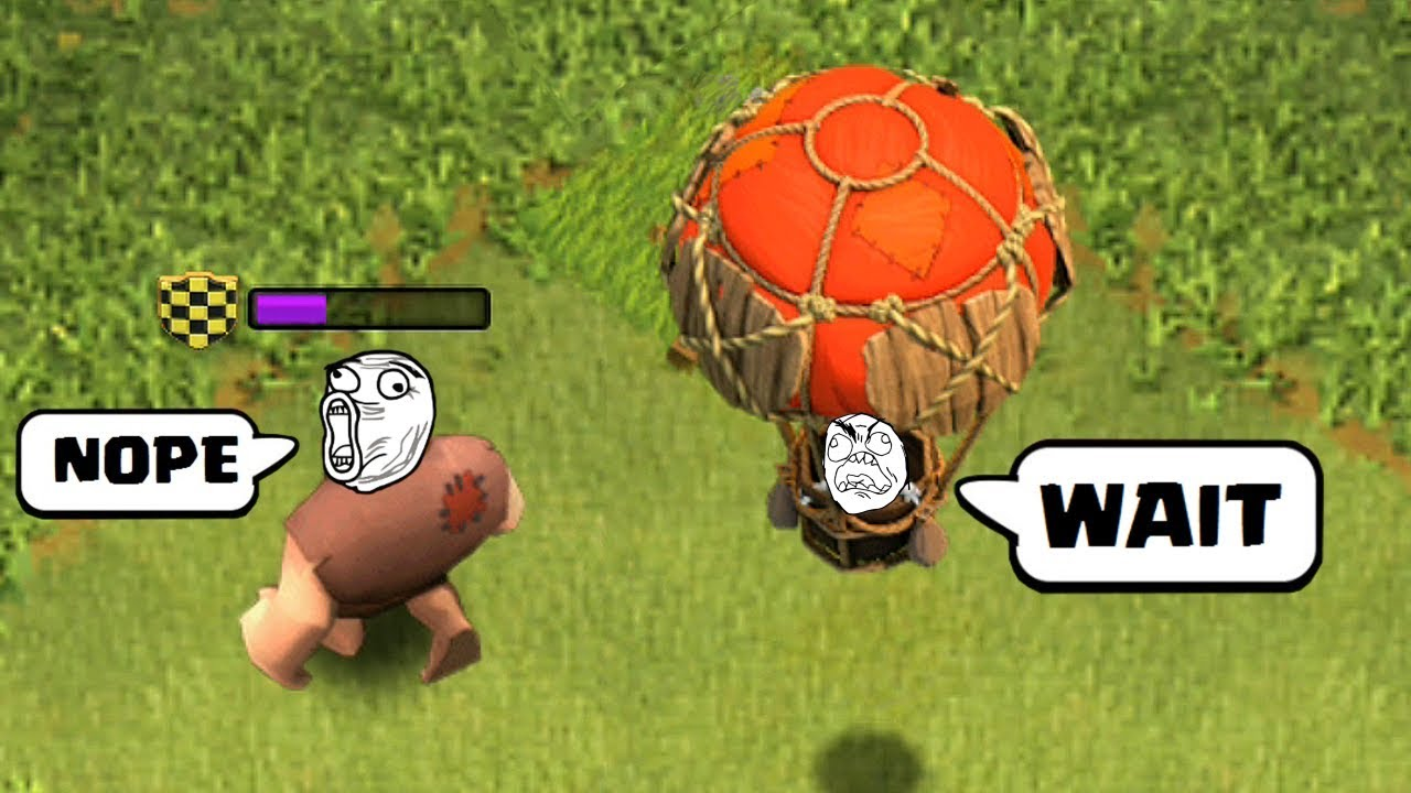 COC Humorous Moments, Glitches, Fails and Trolls Compilation #four | CLASh OF CLANS The Larges Shock