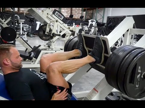 Complete Legs Workout - BPI Men's Trainer with Whitney Reid