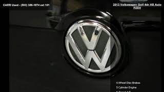 2013 Volkswagen Golf 4dr HB Auto PZEV