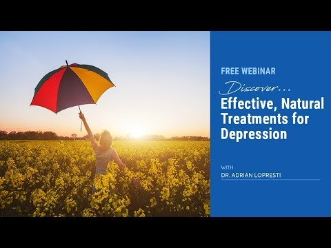 Natural Treatments for Depression Webinar