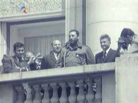 Doi amici din doua insule - Ceausescu Castro