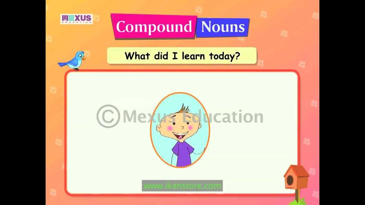 Compound Nouns - YouTube