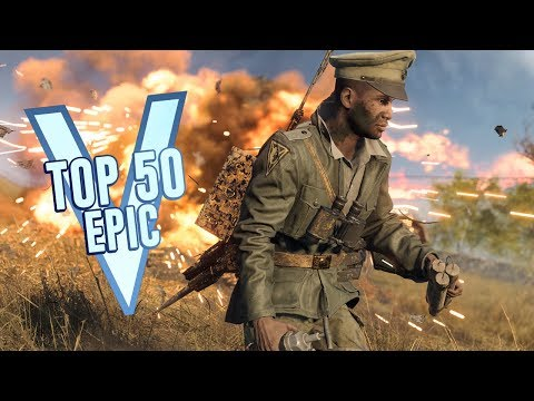 TOP 50 MOST EPIC MOMENTS IN BATTLEFIELD 5