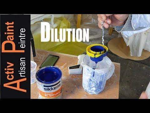 10 100 dilution de la peinture au pistolet viscosit peinture pistolet basse pression youtube