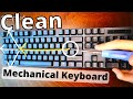 Clean Your Mechanical Keyboard WITHOUT Removing the Keys