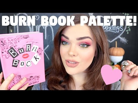 HONEST MEAN GIRLS BURN BOOK PALETTE REVIEW + TRY ON! | Storybook Cosmetics x Mean Girls Palette