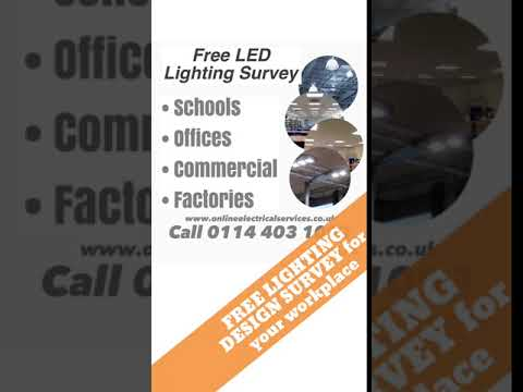 FREE LIGHTING DESIGN SURVEY for your workplace