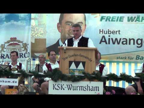 Politischer Montag FW Wurmsham Landrat Peter Dreier Teil 2