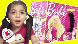 Barbie Official GIANT Surprise Egg and Dolls - Princesses In Real Life | WildBrain Kiddyzuzaa