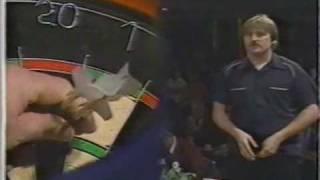 Bob Anderson vs Ronnie Baxter - 1988 Winmau Masters - QF - Part 2