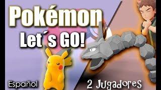 ??️Pokémon LET´S GO Pikachu 2 jugadores ESPAÑOL?