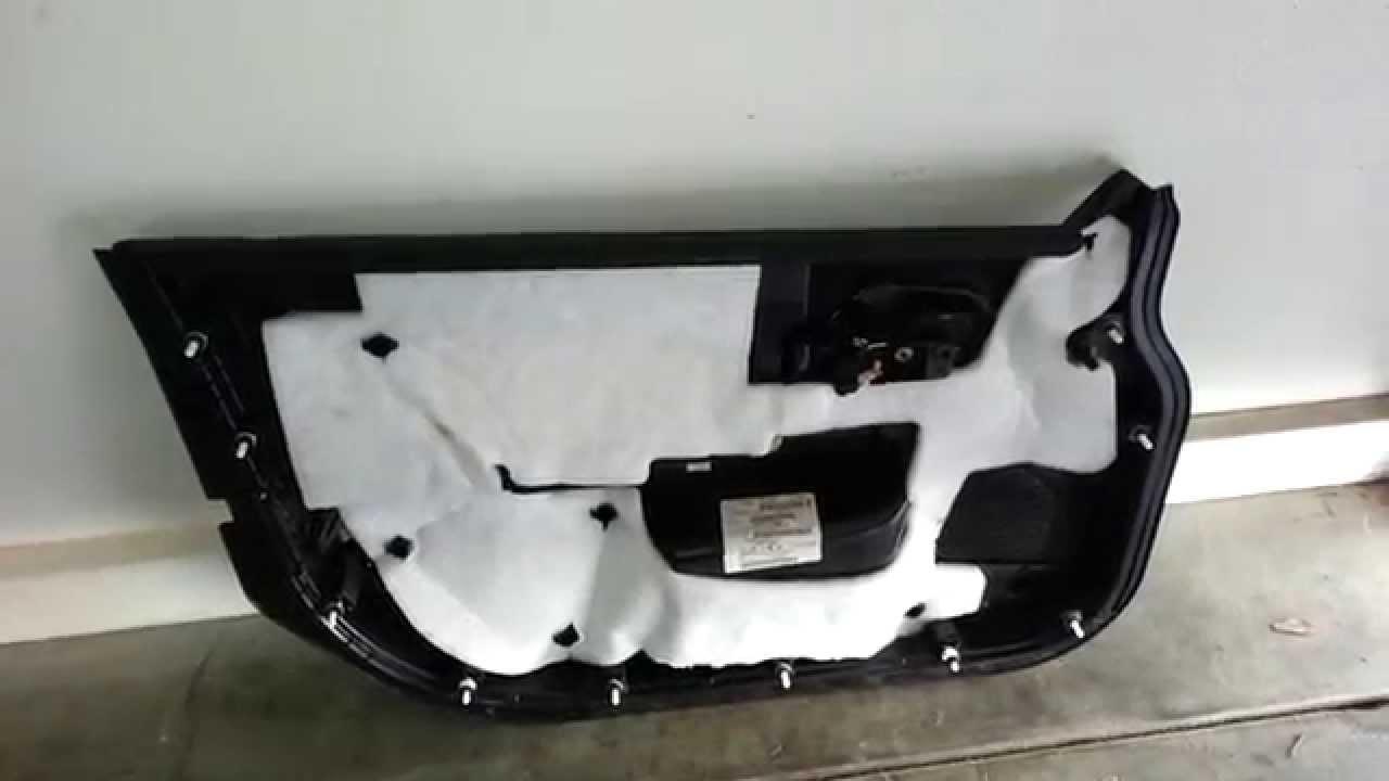 2013 Chrysler 200 Sedan Take Off Plastic Interior Door