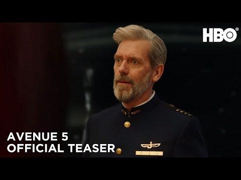 Avenue 5: Hugh Laurie protagoniza una comedia espacial paraHBO