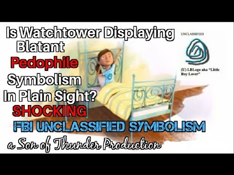 Watchtower Society Pedophilia Symbolism EXPOSED in Plain Sight?