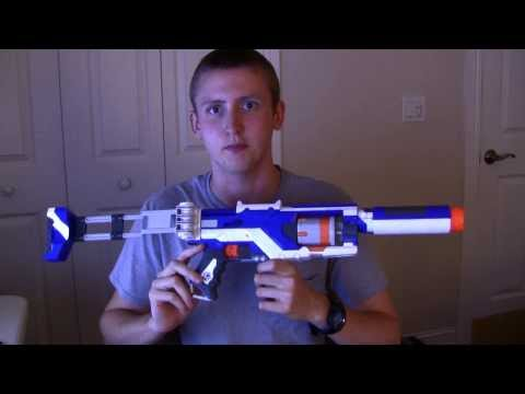 [REVIEW] Nerf Elite Spectre Unboxing, Review, And Firing Test