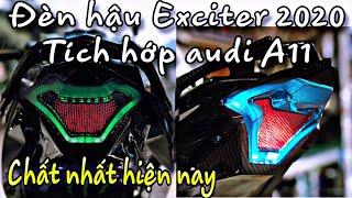 Đèn Hậu Exciter 150 (2020) Led A11- Quá Đẹp - Vô Vàn Hiệu Ứng Đẹp- Taillight Exciter 2020 Led A11