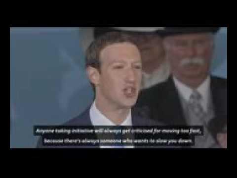 Facebook CEO Mark Zuckerberg Gives The 2017 Harvard Commencement AddressTIME
