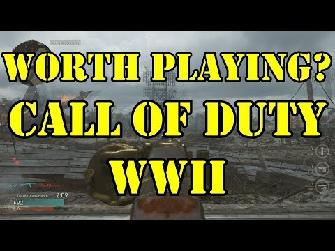 Should You Buy Call of Duty World War II? PC Beta Gameplay Review