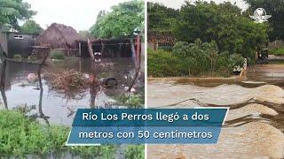 Se trata de las comunidades de Chicapa de Castro, Ejido Zapata, Playa Vicente, Santa María del Mar y Álvaro Obregón