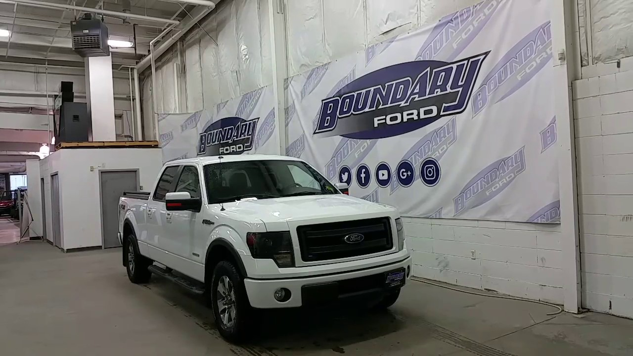 Preowned 2014 ford f 150 fx4 157 wb w ecoboost leather remote start review boundary ford
