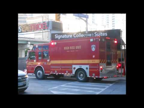 High Rise Residential Fire, Downtown Toronto, P332 HR332