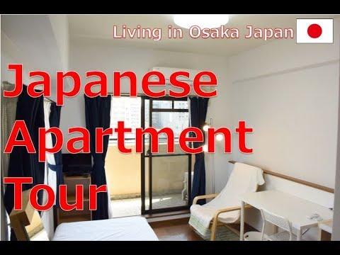 Living in Osaka Japan : Japanese Apartment Tour