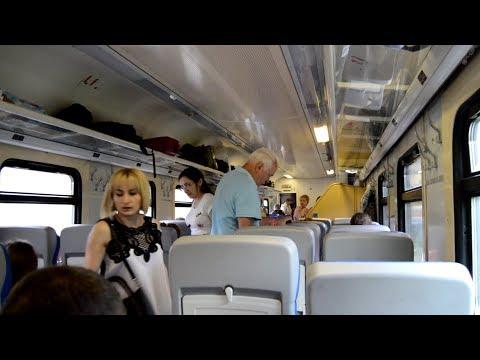 Сидячий вагон поезда 108МА