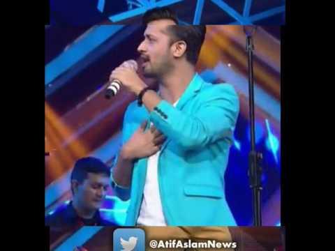 Atif Aslam GIMA award 2015 full karaoke.