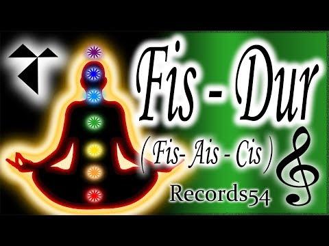 Fis - Dur ( Fis - Ais - Cis ) Green Heart Anahata Chakra (80 bpm)( Love, Hope & Compassion)