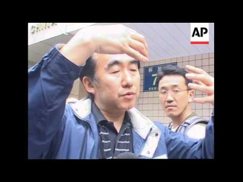 Japanese specialists help in the search for survivors, bodies