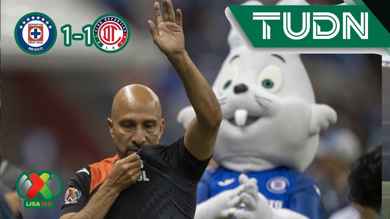 Resumen Cruz Azul 1 - 1 Toluca | Liga MX - Ap19 | TUDN México