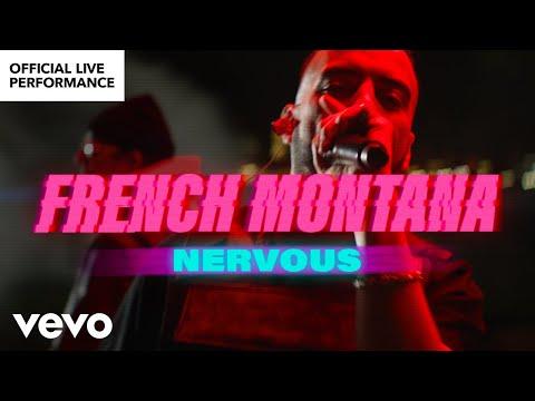 """French Montana - """"Nervous""""   Performance  Vevo"""