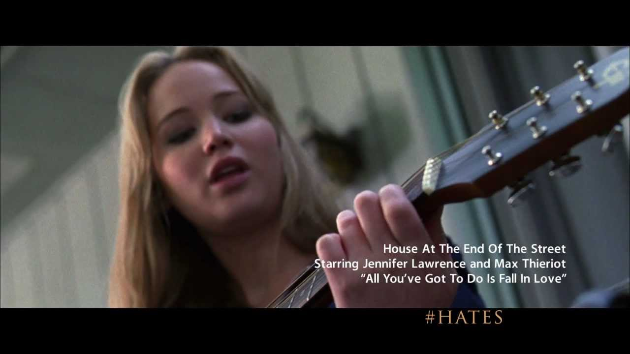 Jennifer lawrence quot all you ve got to do is fall in love quot from