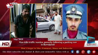 Man kills traffic warden, passerby following a parking row in Rawalpindi
