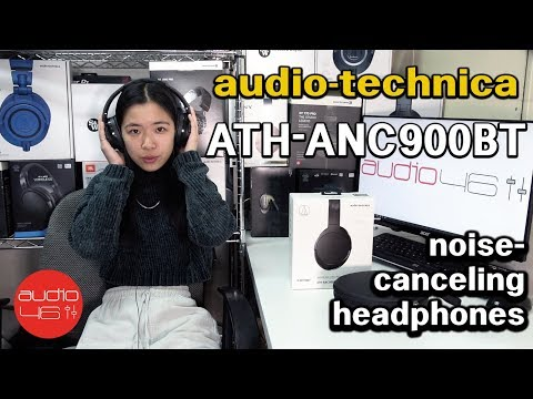 Reviewing Audio-Technica's Best Noise Canceling Over-Ear, The ATH-ANC900BT.