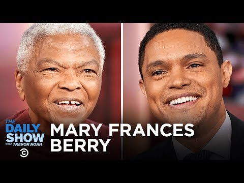 """Mary Frances Berry - """"History Teaches Us to Resist"""" and the Power of Protest   The Daily Show"""