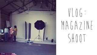 VLOG: MORE MAGAZINE SHOOT | tinytwisst